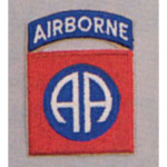 PATCH / ECUSSON 82nd airborne AA Rouge