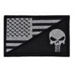 PATCH / ECUSSON PUNISHER USA FLAG ACU