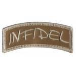 Patch infidel sable