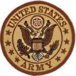 Patch United States Army Tan