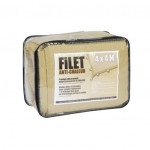 Filet anti chaleur 4m x4 m, Anti-UV Sable