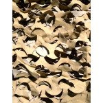Filet de camouflage renforcé Sable, 6m x 3m, CamoSystems surplus militaire - Anti UV