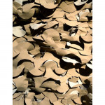 Filet de camouflage Sable Anti feu 2.4m X 3m
