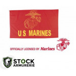 Drapeau us marines  licence officielle