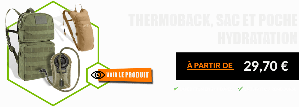 Thermoback - poche hydratation