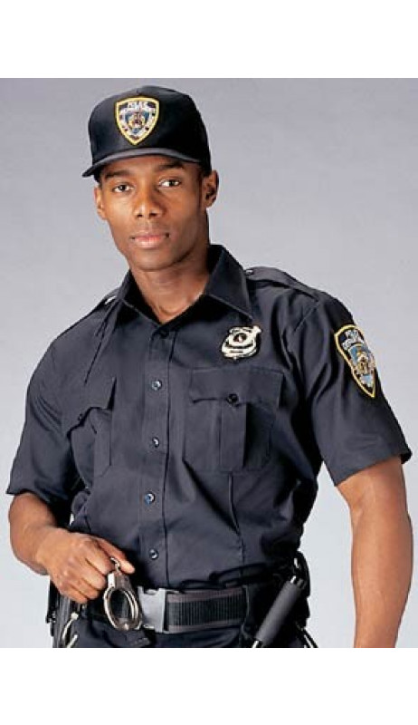 Chemise NYPD Manche courte