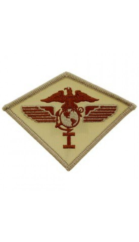 PATCH / ECUSSON - USMC 01ST AIRWING DESERT