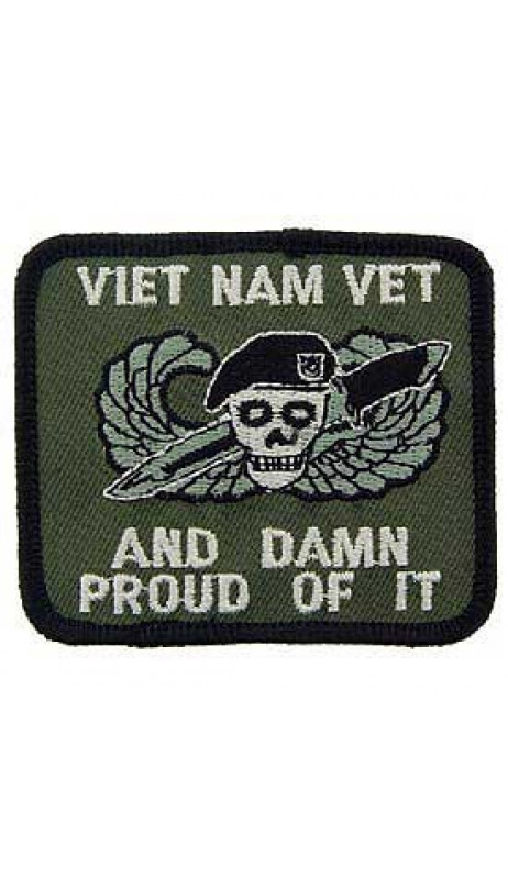 PATCH / ECUSSON - VIETNAM DAMN PROUD