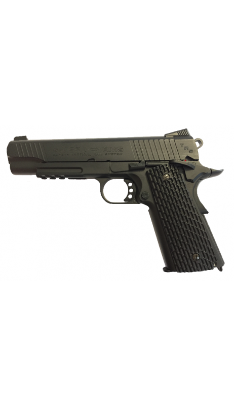 SWISS ARMS SA1911 Tactical Rail Noir Culasse Mobile CO2/C6