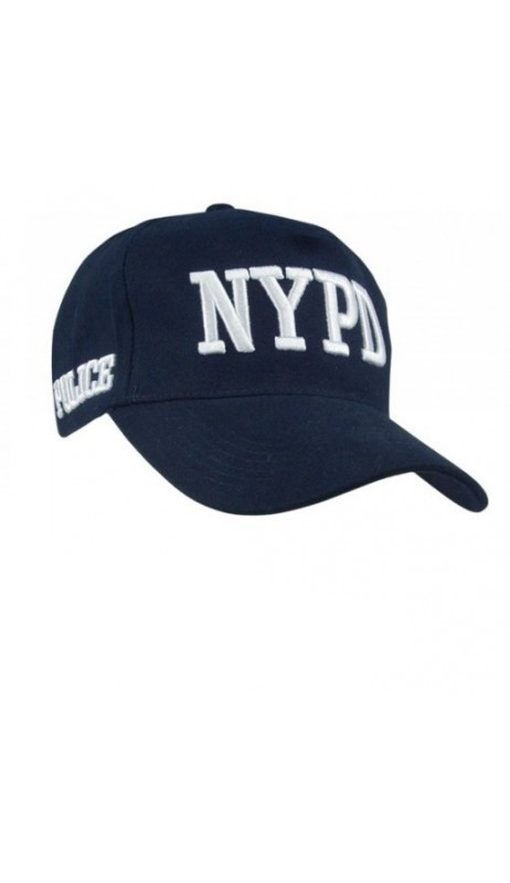 Casquette Police NYPD brodée (avec licence)
