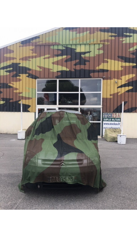 Bache maille camouflage CE