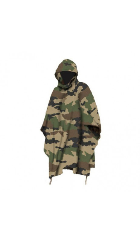 Poncho militaire camouflage