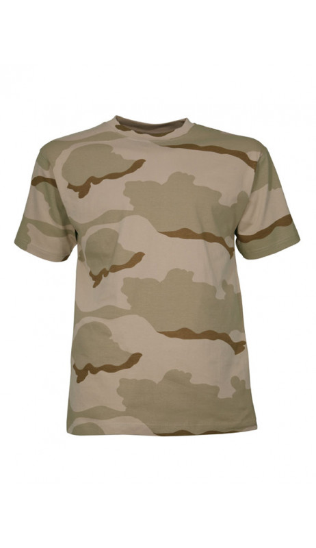 Tee Shirt militaire camouflage désert