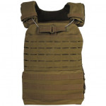Gilet tactique MOLLE Laser Coyote