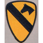 PATCH / ECUSSON 1st cavalerie US jaune