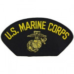 PATCH / ECUSSON - USMC noir