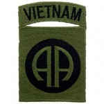 PATCH / ECUSSON - VIETNAM 082ND SUBDUED