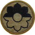 PATCH-ARMY 009TH INF.DIV. SUBDUED