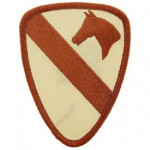 PATCH / ECUSSON - ARMY 001ST Cavalerie