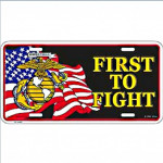 Plaque US First to fight