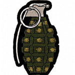 Patch US Grenade OD