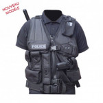 Gilet tactique force d'intervention Droitier
