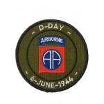 Patch D-Day Airborne 6 juin 1944