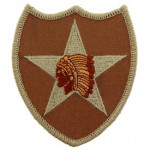 PATCH ECUSSON U.S. ARMY indien DESERT