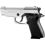 Pistolet  M85 a blanc chrome 9mm