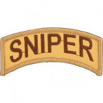 patch army SNIPER desert