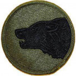 PATCH Wolf ARMY 104 TH INF.DIV.