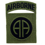 PATCH / ECUSSON 82nd airborne AA Sable