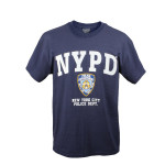 Tee shirt NYPD bleu marine sous licence officielle