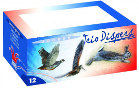 Cartouches de chasse - Trio becassiere - C12/70 - 36gr - Plombs n°8/9/10 - x10