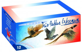 Cartouches de chasse - Trio Extremum - C12/70 - 38gr - Plombs n°5/6/7 - x10