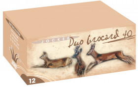 Cartouches de chasse - Duo Brocard - C12/70 - 40g - Plombs n °1/2 - x10