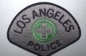 PATCH / ECUSSON police US LOS ANGELES