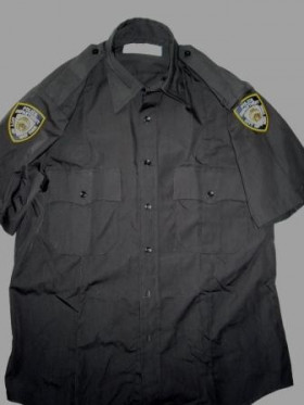 Chemise us police NYPD avec écussons Rothco