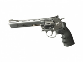 "Réplique de poing  Dan Wesson 6 "" Chrome"