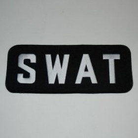 PATCH / ECUSSON SWAT GM brodé 22x10