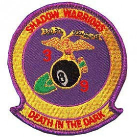 PATCH / ECUSSON - USMC shadow warriors