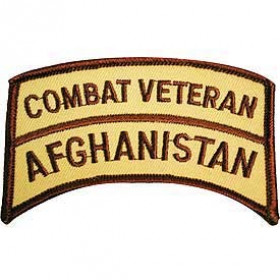 PATCH / ECUSSON AFGHANISTAN COMBAT VETERAN pour airsoft
