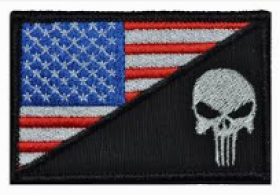 PATCH / ECUSSON PUNISHER USA FLAG