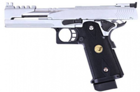 WE Hi-Capa 5.1 Silver Dragon B-Version GBB 0.9J
