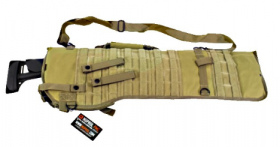 Carquois PMC Molle shotgun Tan