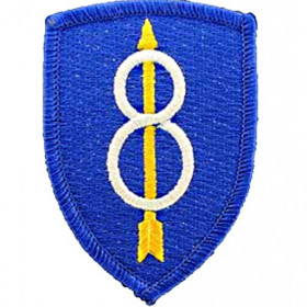 Patch US 8ème Infanterie