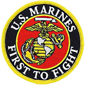 Patch US Marines First to fight