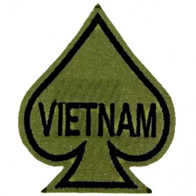 Patch US As de pique Vietnam