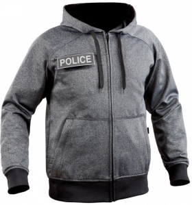 Sweat zippé Ghost police civile