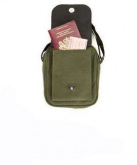 Travel passport bandoulière Snugpak Kaki